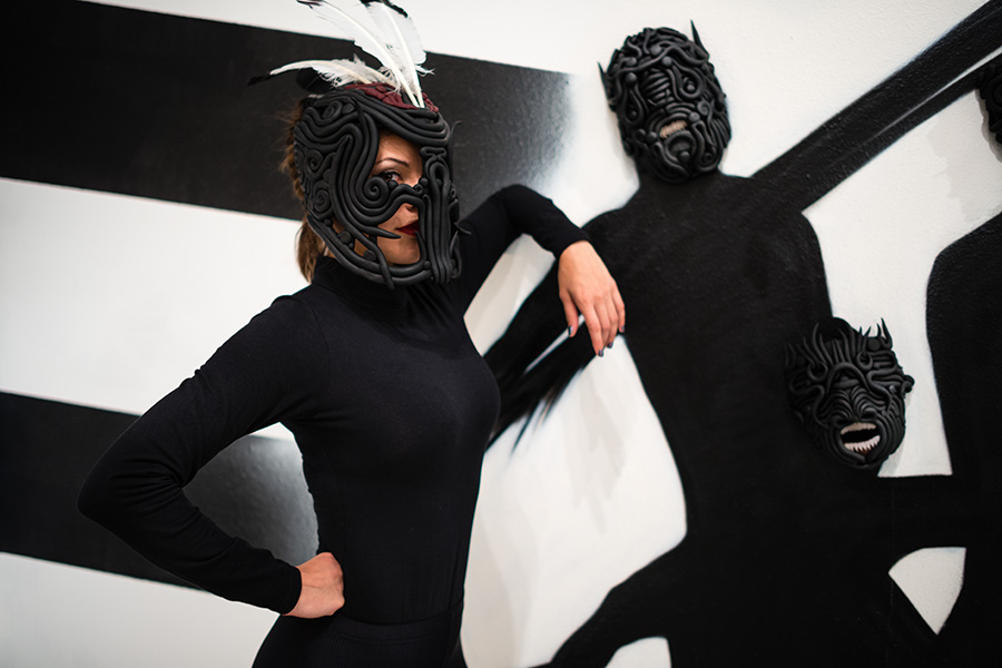Model and the Masks