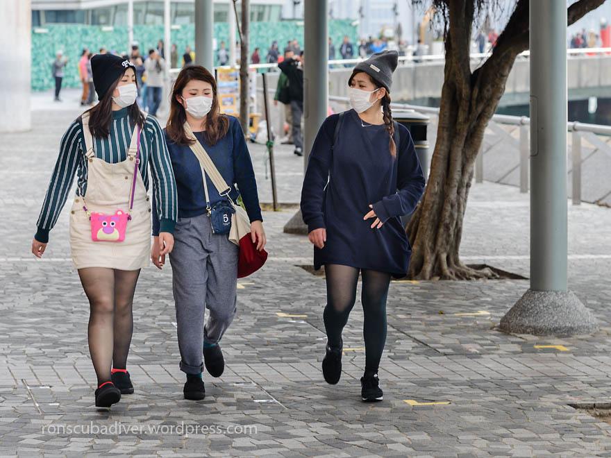 Masked Visitors