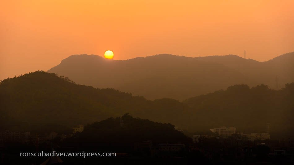 Sunset Over Jinwan