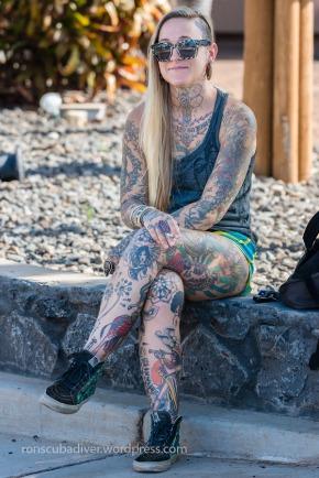 tattooed nurse